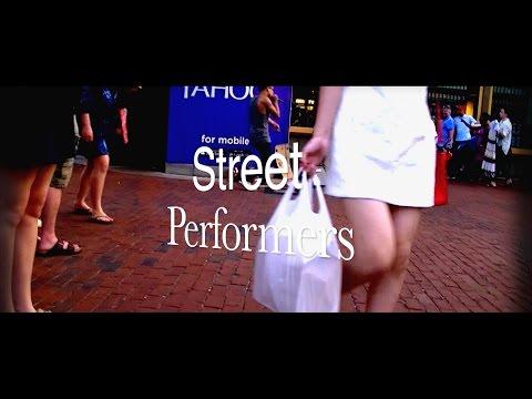 Street Performers - Harvard Square - Cambridge, MA Fall 2015