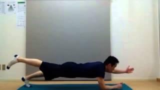 【美しく踊るための体幹強化法】プローン ニートゥ体幹トレーニング