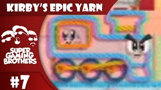 SGB Play: Kirby's Epic Yarn - Part 7   All Aboard the Jank Train!