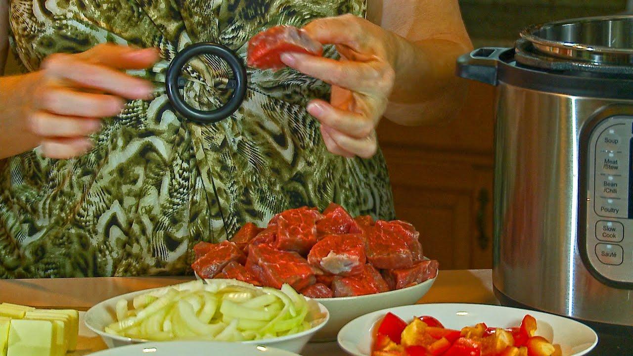 Тушеная Говядина в Мультиварке - Вкусно и Быстро:):)|картошка с мясом в мультиварке мулинекс