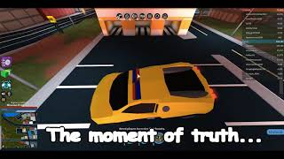JAILBREAK BOUNCY FLYING CARS?!?! Someone please fix this | Jailbreak (Roblox)