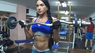 Bodybilding Girl Motivation Svetlana Beltseva