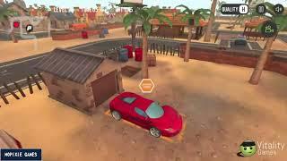 PARKING FURY 3D BEACH CITY LEVEL 1-5 | KIDS GAMES