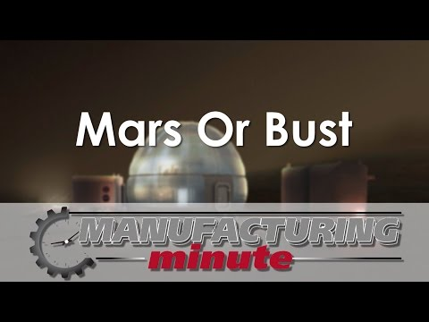 Manufacturing Minute: Living On Mars Might Mean Calling This 'Space-ious' Igloo Home