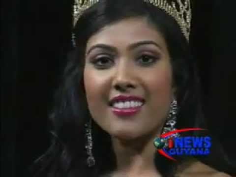 Guyana wins first international beauty pageant crown. February 27, 2012