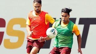 Falcao ve Ömer Bayram U19 Hazırlık Maçı (Muhteşem