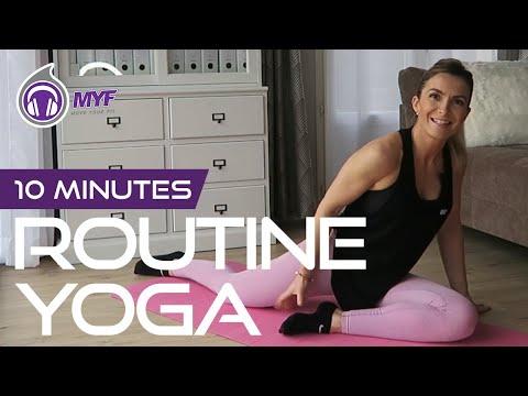 Ma routine yoga