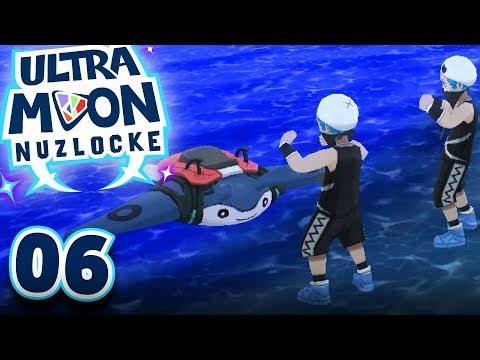 DOWN TO THE BEACH! (POKEMON ULTRA SUN & ULTRA MOON NUZLOCKE #06)