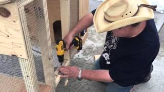 Building a rabbit hutch for less than $50.00 (follow up)