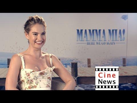 Mamma Mia – : Lily James