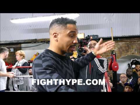 ANDRE WARD ADMITS WHAT HE STOLE FROM FLOYD MAYWEATHER; EXPLAINS IMPORTANCE OF INSIDE GAME