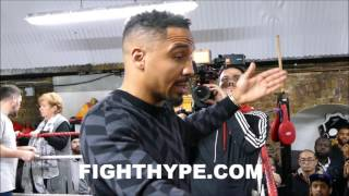 ANDRE WARD ADMITS WHAT HE STOLE FROM FLOYD MA...
