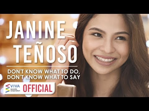 "Janine Teñoso — Don't Know What To Do | from ""The Barker"" [Official Music Video]"