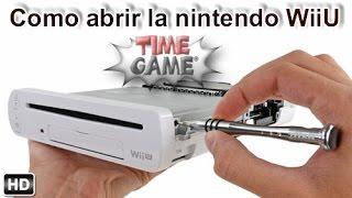 Como poder abrir una Nintendo Wii U