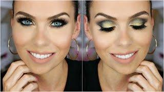 GRWM | Jeffree Star palette tutorial | Black & gold | Černozlaté kouřovky