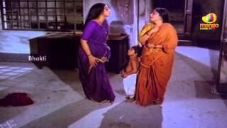 Sri Mantralaya Raghavendra Swamy Mahatyam Scenes - Lakshmi commits suicide