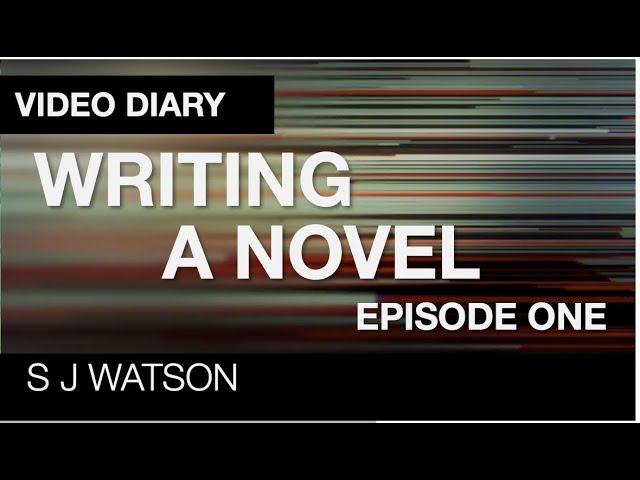Writing a Novel - A Video Diary | Ep 1