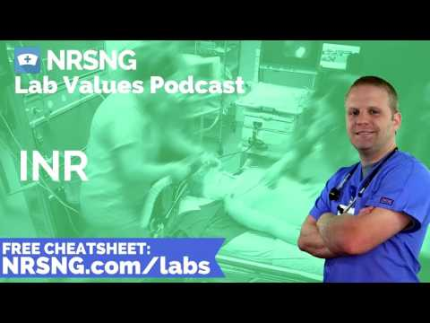 INR Nursing Considerations, Normal Range, Nursing Care, Lab Values Nursing