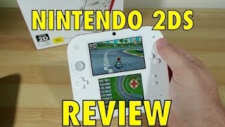 Nintendo 2DS Review + 3DS vs 2DS Battery life test!