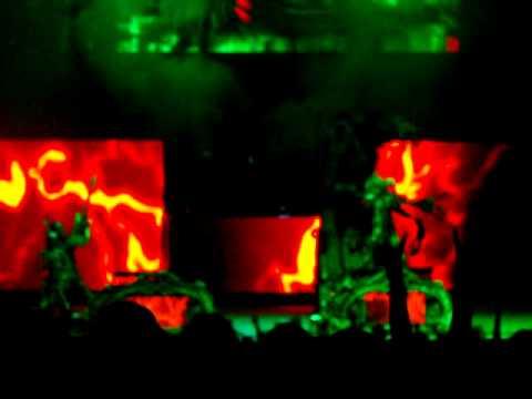 Rob Zombie at Rockstar Mayhem Festival 2010