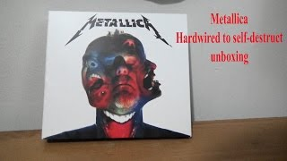 Metallica hardwired to self-destruct Unboxing (Deluxe Edition CD)