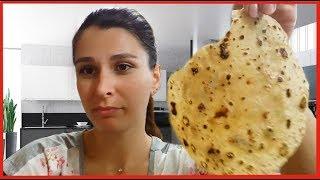 ИНДИЙСКАЯ КУХНЯ - РОТИ. Очень вкусный и полезный хлеб в форме лаваша. Готовит повар нашего отеля.