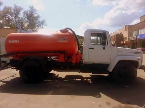 Мусоровоз КО-440-2 (2008 г.) шасси ГАЗ-3309 (4х2) Евро-3 дизель в .