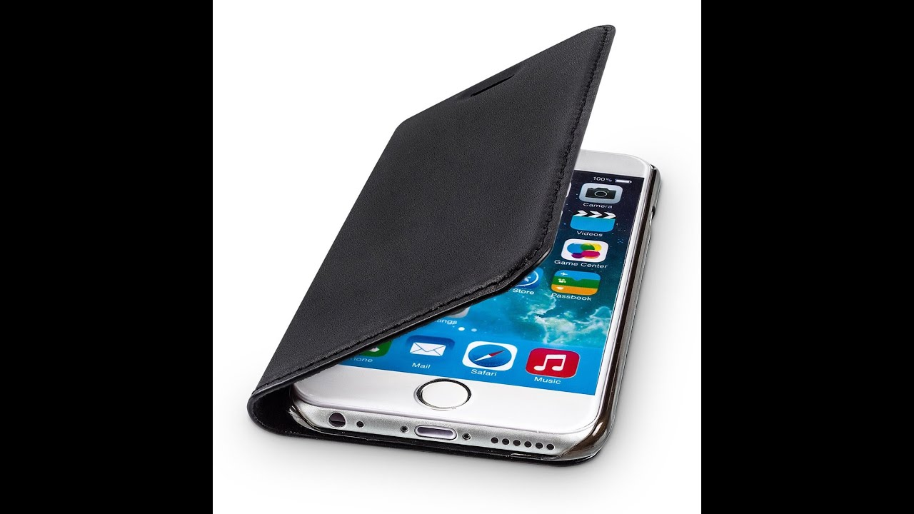 wiiuka travel premium apple iphone 6 leather case youtube. Black Bedroom Furniture Sets. Home Design Ideas