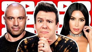 WOW! The Joe Rogan Spotify Censorship Controversy is Back, ✨Humble Queen✨ Kim Kardashian, & Im tired
