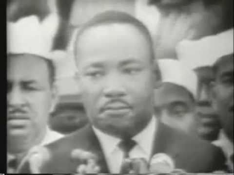I HAVE A DREAM... MARTIN LUTHER KING - August 28, 1963