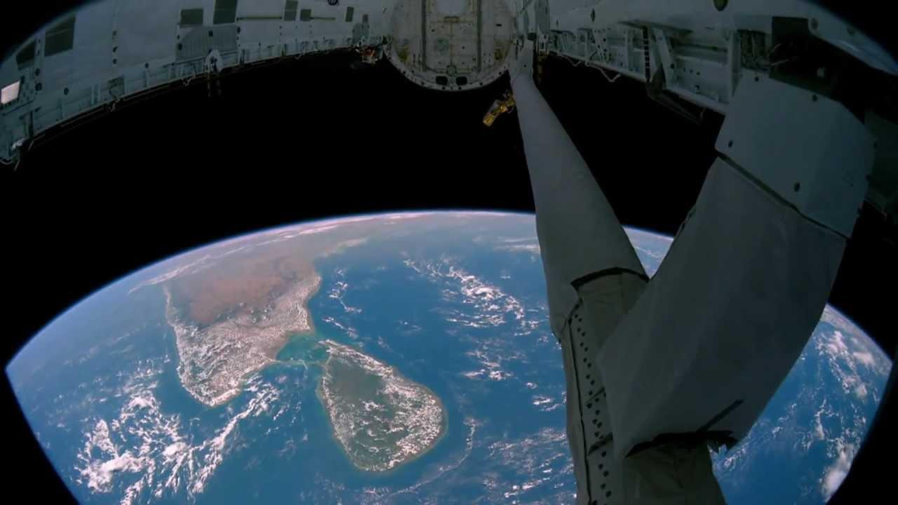 Планета Земля вид из космоса (Full HD)