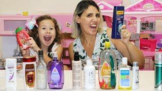 Não escolha o shampoo errado!