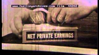 Economic Policy in the U.S.A, 1960's - Film 44202