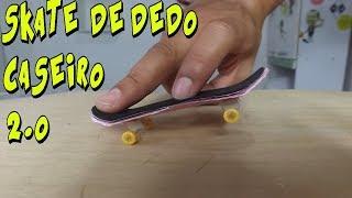 COMO FAZER    SKATE DE DEDO CASEIRO 2.0