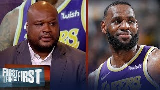 Antoine Walker names the best free agent option for LeBron's Lakers | NBA | FIRST THINGS FIRST