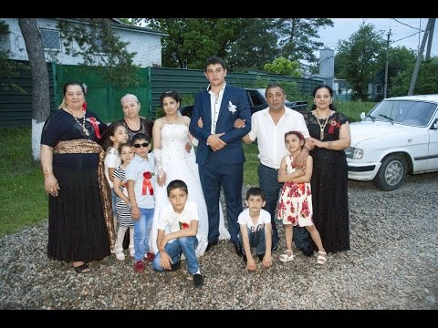 Цыганская свадьба. Танцуют все! Вася и Рузанна. Часть 14
