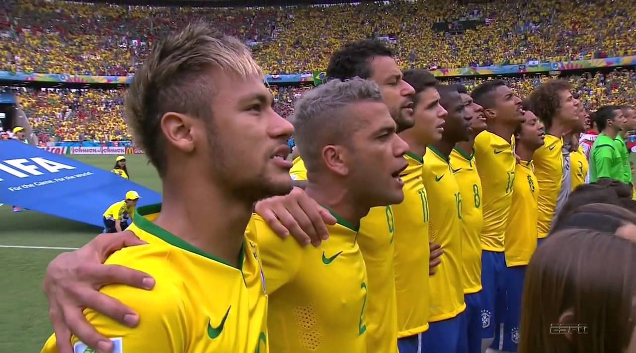 FIFA Word Cup 2014 - Brazil vs Mexico National Anthems ...