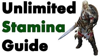 Skyrim: How To Get Unlimited Stamina
