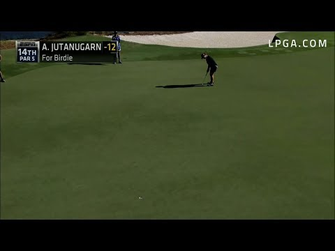 Ariya Jutanugarn Final Round Highlights - 2017 CME Group Tour Championship