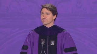 Justin Trudeau urges NYU grads to embrace diversity