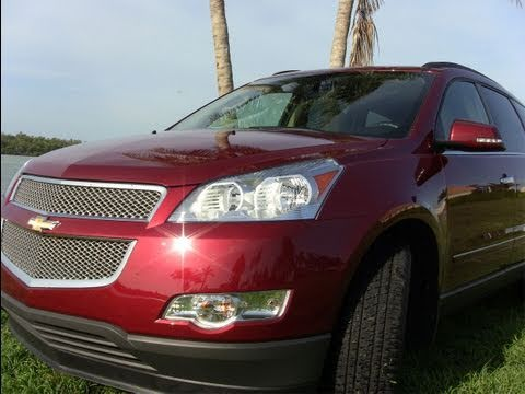 2011 Chevrolet Traverse first drive review: the biggest Chevy crossover of them all