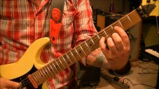 How to play Dream Warriors by Dokken on guitar by Mike Gross