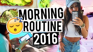 MORNING ROUTINE 2016! How I Get Ready In The Morning!