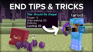 10+ Minecraft End Dimension Tips and Tricks