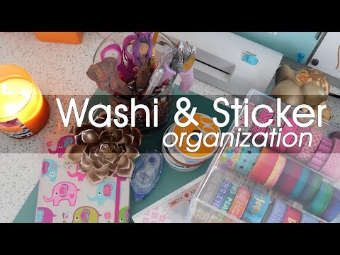 Lifestyle: Washi And Sticker Organization