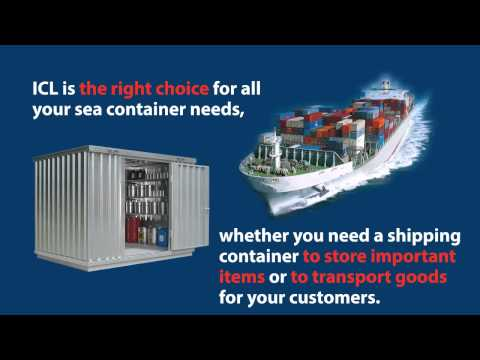 Fully Secured Sea Container Offered by ICL