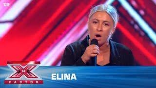 Elina syger 'Bette Davis Eyes' – Kim Carnes (5 Chair Challenge)   X Factor 2020   TV 2