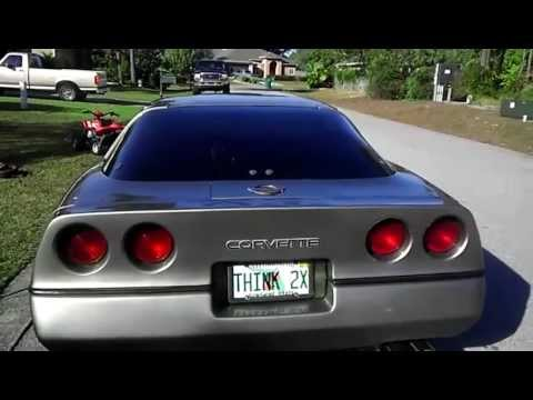 Cammed 1985 C4 Corvette With 383 Stroker Youtube