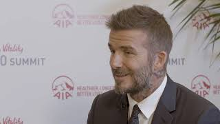 In Conversation: David Beckham and Alisa Camplin