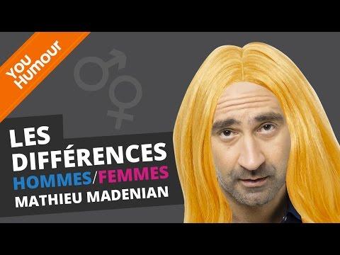 MATHIEU MADENIAN - Les différences Hommes / Femmes